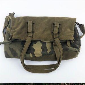 Urban Outfitters Ecote Camo Satchel Shoulder Bag